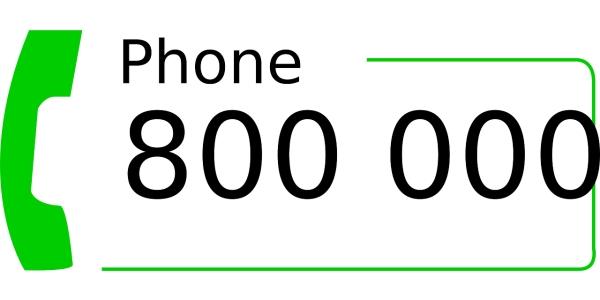 800 Number
