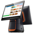 All in one Touchscreen POS terminal with customer facing display
