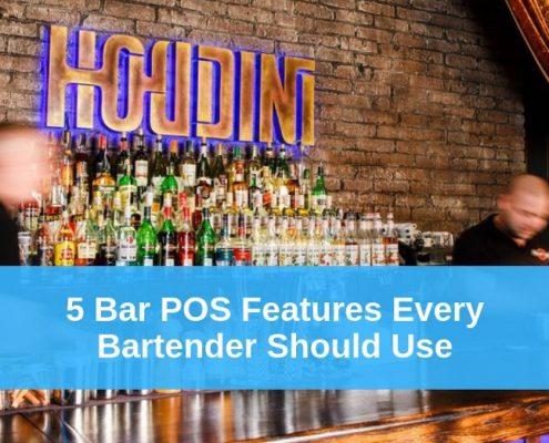 bartending pos system