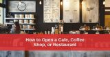 Coffee Shop Startup Guide