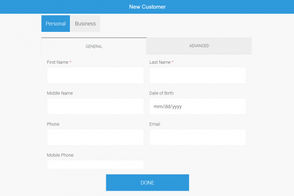 Manage Customers