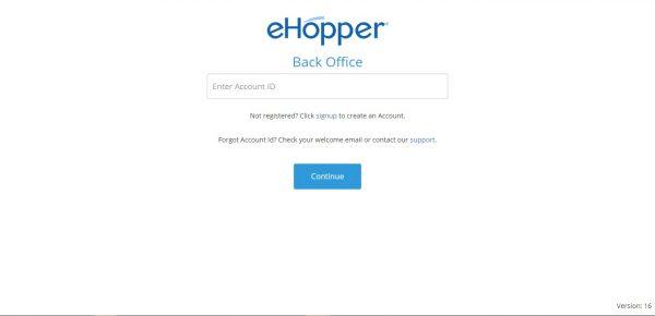 eHopper Account ID