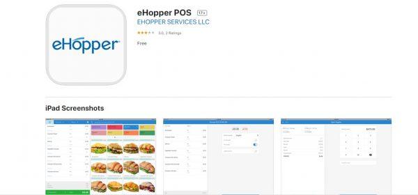 eHopper App - iPad App Store