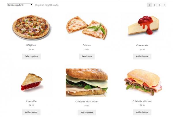eHopper Online Ordering Site