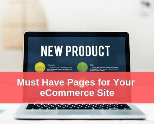 eCommerce Website Pages
