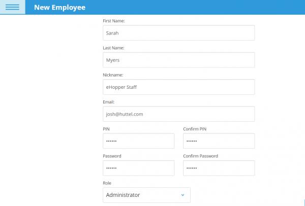 create employee