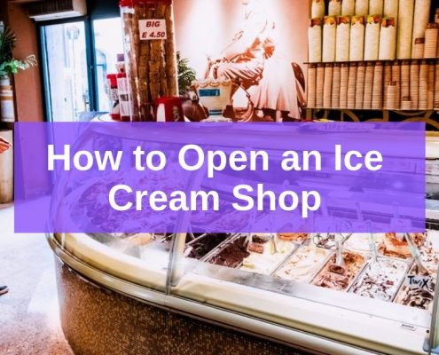 how to open an ice cream shop