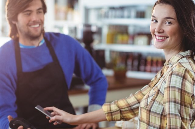 Bill payment through smartphone with retail POS