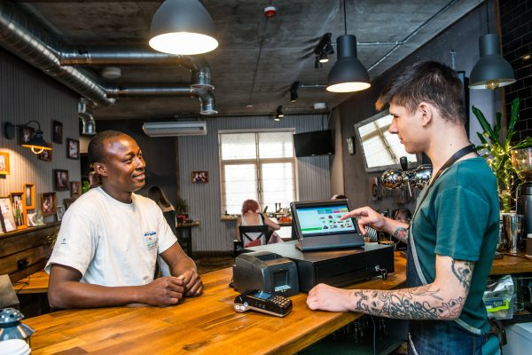 mobile POS for bars