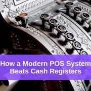 modern cash register