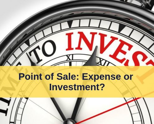 point of sale expense vs investment