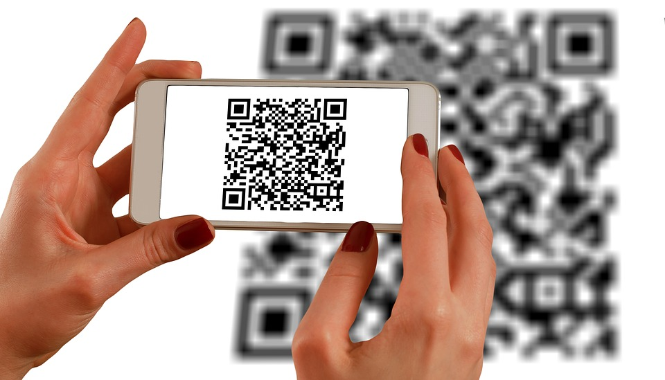 QR codes on mobile
